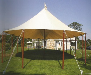 57 x 56 Stillwater Sail Cloth Tent (3,192 sq ft)